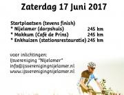 flyer fietstocht vk